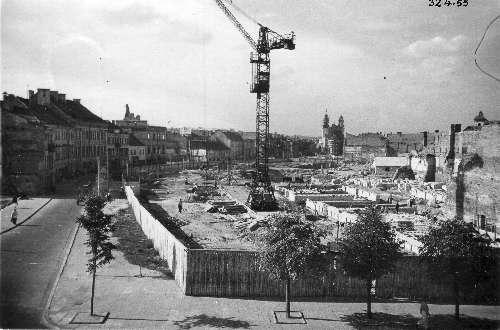 Vokiečių g. rekonstrukcija 1955 m.